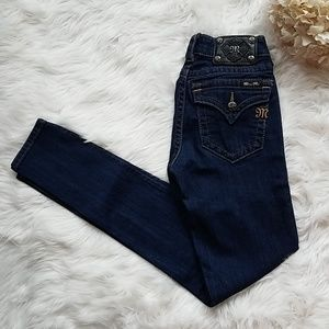 Size 25 Miss Me Mid-Rise skinny jeans